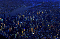 New York, NY from 5,000 feet